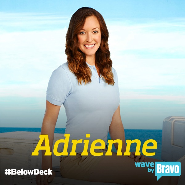"Adrienne Gang - Bravo TV's ""Below Deck"" Chief Stewardess. Photo Source: BravoTV.com."