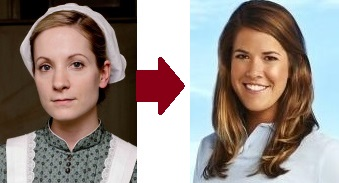 Anna Bates Downton Abbey and Sam Orme Below Deck