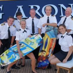 """M/Y """"Big Aron"""" Crew, Circa 2011"""