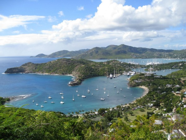 A view from Shirley Heights, English Harbour, Antigua.