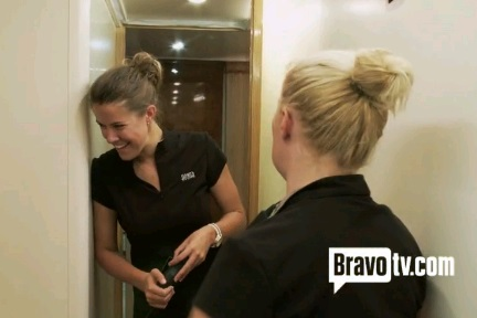 "Yacht Stewards Sam Orme and Kat Held of Bravo TV's ""Below Deck"""
