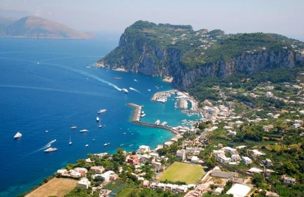 Capri Island. Italy.