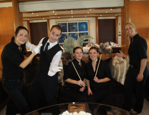 Interior crew on Superyachts wear many hats
