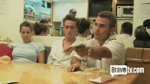 Tip Distribution Time on Bravo TV's Below Deck