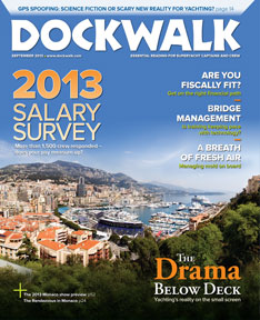 Dockwalk September 2013 Issue - Below Deck - Julie Perry Book