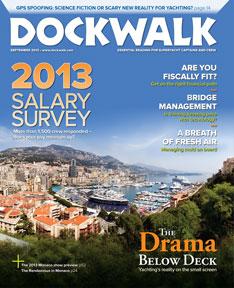 Dockwalk September 2013 Issue - Below Deck - Julie Perry Book