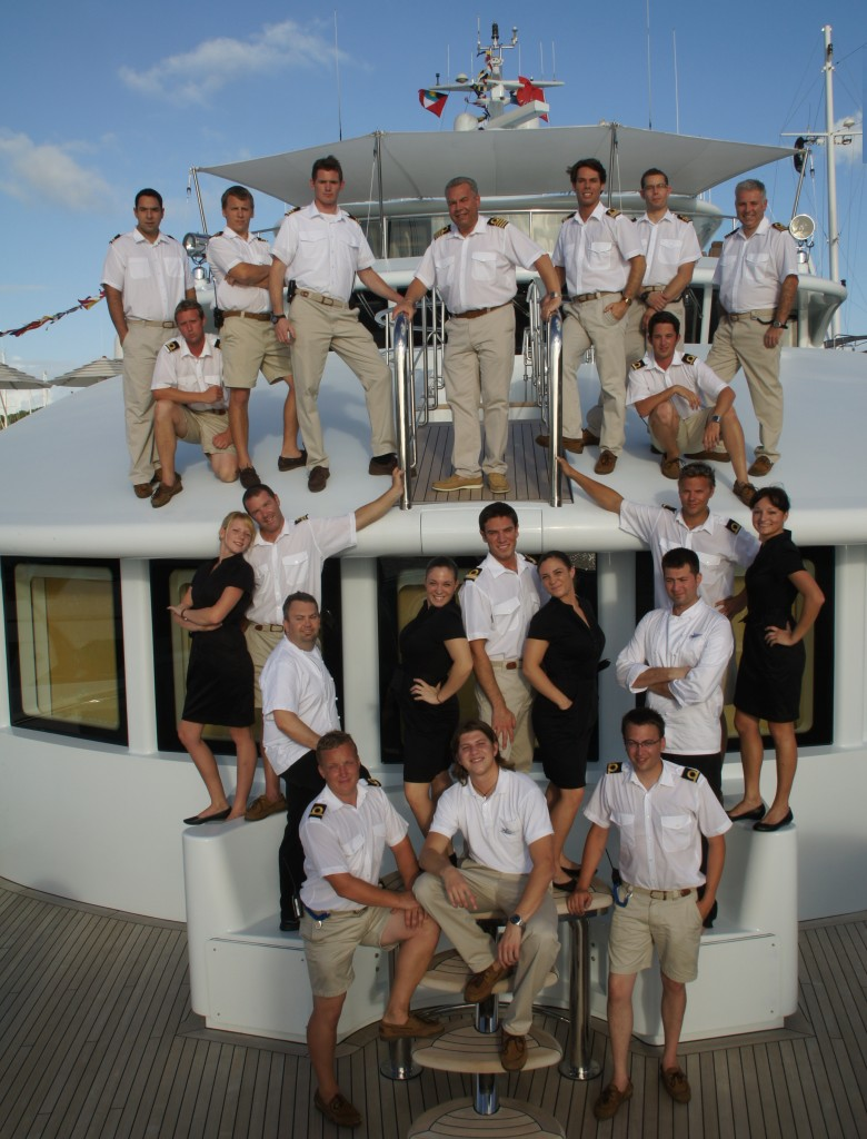 Superyacht Crew of MotorYacht Samar