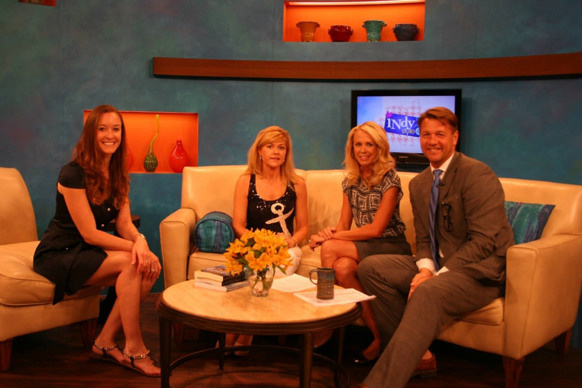Indy Style: Adrienne Gang and Julie Perry August 19 Yacht Stewardess Book Interview TV