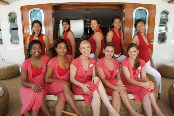 Interior Crew on M/Y Sherakhan