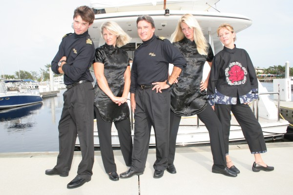 Luxury Yacht Crew Photo Copyright: Suki Finnerty of YachtingToday TV.