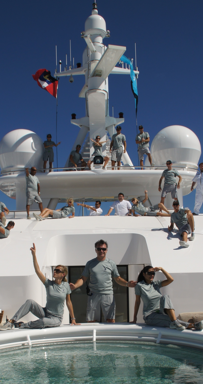 M/Y Kogo Superyacht Crew