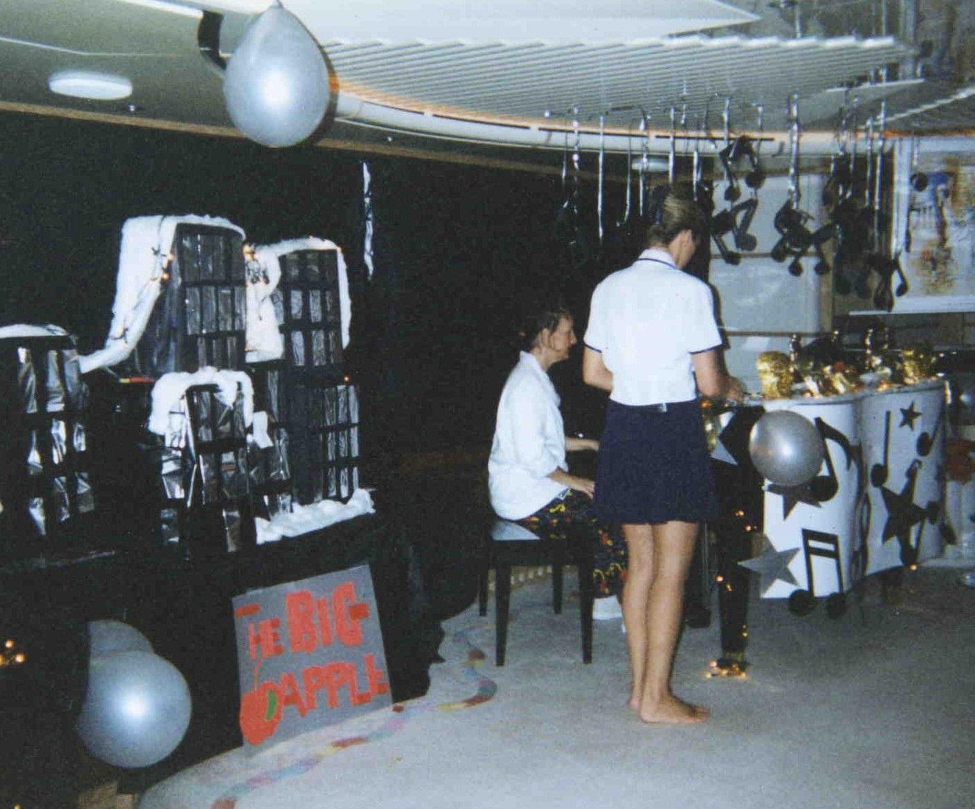 theme party newyork newyork night superyacht stewardess