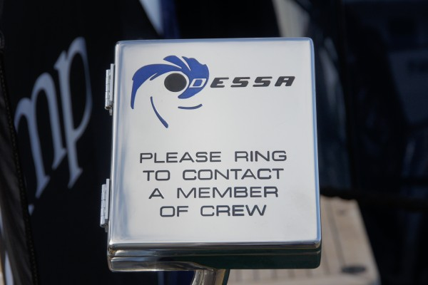 Ring for yacht crew to come aboard