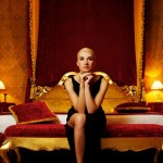 Rich woman yacht guest