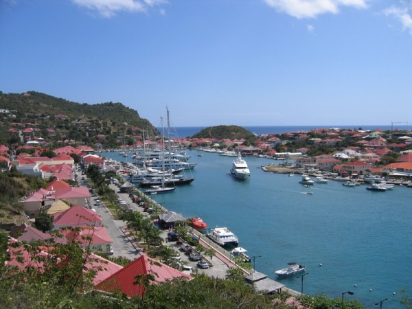 Yachts in port of Gustavia, St Barts