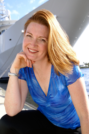 "Victoria Allman - Yacht Chef and Author of ""SEAsoned"" and ""SEAfare"""