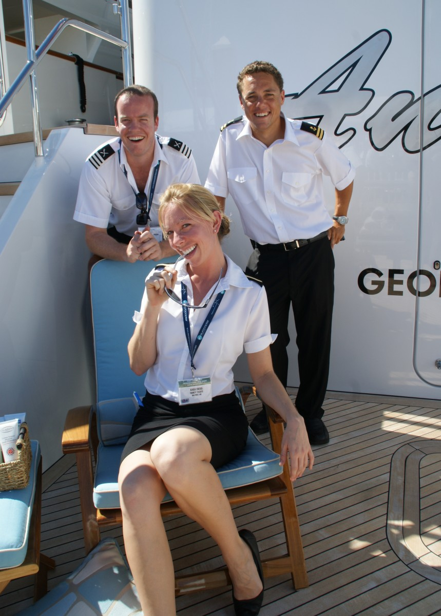 Megayacht Stewardess and Crew