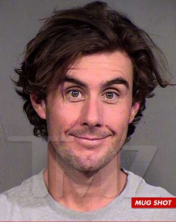 CJ Lebeau's Mugshot featured on TMZ after he was arrested for allegedly assaulting his girlfriend.