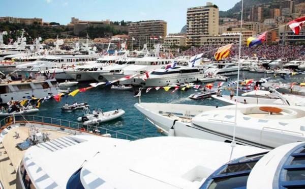Monaco Grand Prix Chartered Megayachts